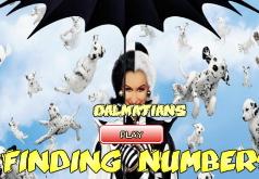 Игры 101 далматинец поиск цифр