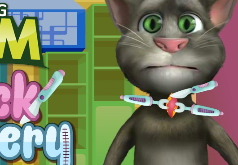 Игры Кот Том Операция на шее