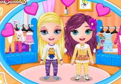 Игры Пижамная вечеринка у малышок Барби