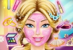 Игры Настоящий макияж невесты Барби часть 2