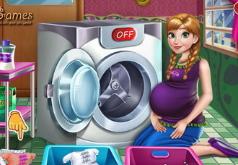 Игры Стирка беременной Анны
