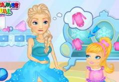 я хочу игру эльзу ляльку рожать