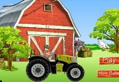 Игры Бакуган на тракторе