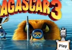 Мадагаскар 3|игры найди отличия|мадагаскар