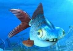 Игры Говорящий Джордж невезучая рыба