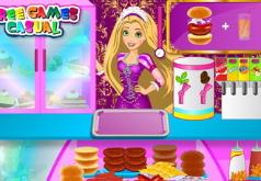 Игры рапунцель готовим еду