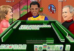 Обама играет в Маджонг