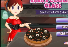 Игры Торт на Хэллоуин Кухня Сары
