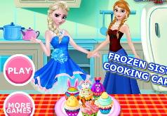 Игры Холодное сердце Приготовление кексов