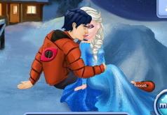 Игры Поцелуи Эльзы и Кена