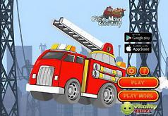 Игры Пожарная машина спешит на пожар