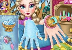 игры для девочек макияж маникюр прически эльзы