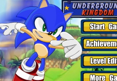 Игра Соник и подземное королевство