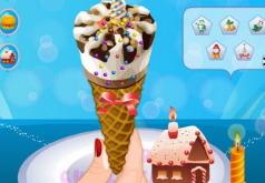игры вкусное коническое мороженое