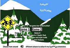 Игры Южный Парк Раскраска