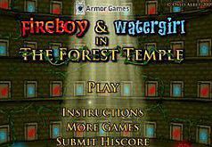 игры огненный мальчик и водяная девочка