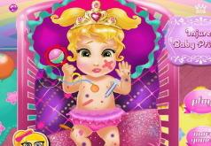 Игра Пораненная крошка принцесса