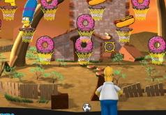 Игры Гомер Симпсон и мячики