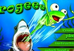 игры приключения зеленой лягушки
