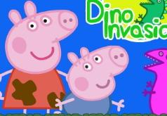 Игра Свинка Пеппа Вторжение динозавров