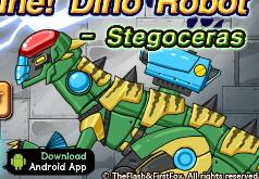 Игра Робот Динозавр Стегоцерас