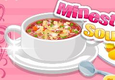 Игры Готовим суп Минестроне