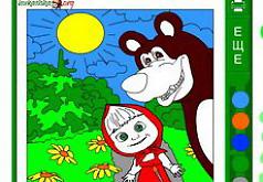 игры поцелуи маша и медведь