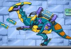 Игры Машина робот динозавр