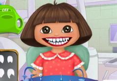Игры Дора и Диего у дантиста