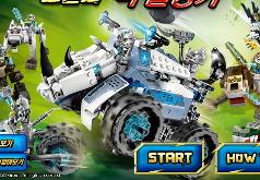 Игра Лего Чима: решающий бой
