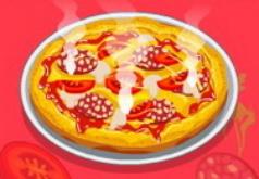 Игры Готовим пиццу в школе шефа