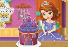 Игры София готовя принцессу Cake