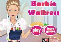 Игры Барби официантка
