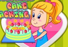 игры торт для мамы