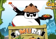 игры панда лучший самурай