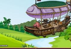 Игры Побег с летучего корабля