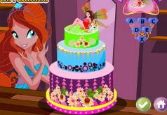 Игра Ангельский торт Винкс