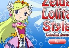 Игры Раскраска Зельда Лолита