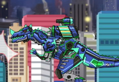 Игры Ремонт дино робота Черепахи
