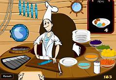 Игры для девочек кухня повар еда