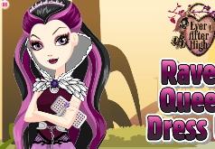 Игра Наряди королеву ворон