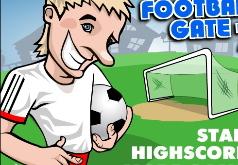 игра футбольные ворота