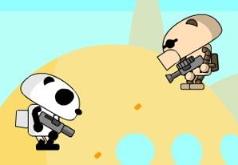 игры робот панда