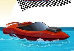 Игры Гонки на скоростных моторных лодках