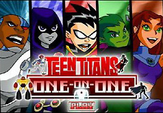 Игры Юные титаны Вперед Один на один
