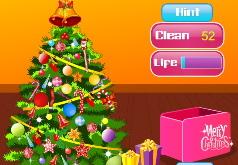 Игры Убираем новогоднюю елку