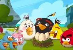 Игра Злые птицы Счастливая семья