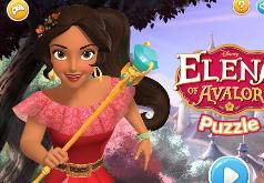Игры Собери пазлы с принцессой Авалора