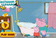 Игры Свинка Пеппа в ванной