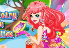 Игры Цветочная фея бабочка